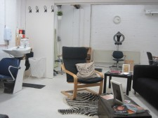 creative co working space for hairstylist!